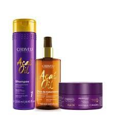 Cadiveu Kit Açaí Oil Shampoo + Óleo  + Mascara