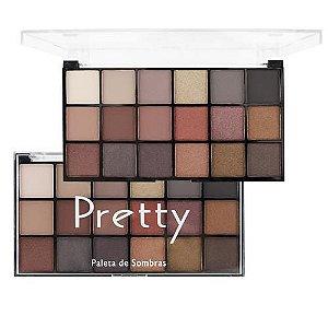 Luisance Pretty A Paleta de Sombra 18 Cores