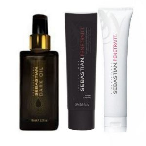 WELLA SEBASTIAN KIT PENETRAITT SH 250 +MASC 150 +DARK OIL 95