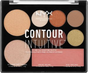 NYX PALETA CONTOUR INTUITIVE WARM ZONE