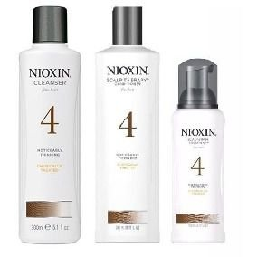 Nioxin Kit Colored 4 (Sh 300ML+ Cond 300ML + Scalp 100ML)