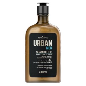 Urban Men Shampoo 3x1 240ml