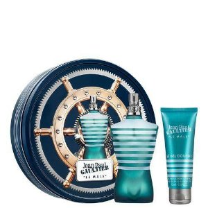 JEAN PAUL  G LE MALE COFFRET EDT 125ML + Gel 75ML