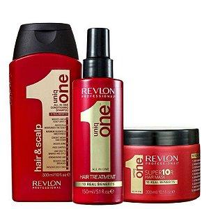 Uniq One Shampoo + Máscara + Leave-in
