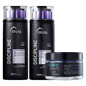 Truss Kit Discipline (Shampoo + Condicionador + Máscara Specific)