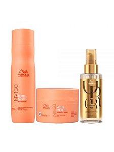 Wella Kit Invigo Nutri-Enrich (Shampoo 250ML + Máscara 150ML + Oil Reflections Tratamento 100ML)