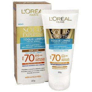 Loreal Solar Expertise Toque Limpo FPS70