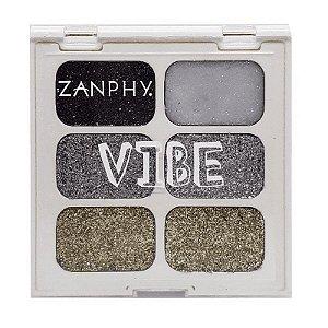 Zanphy Paleta de Glitter Linha Vibe 01