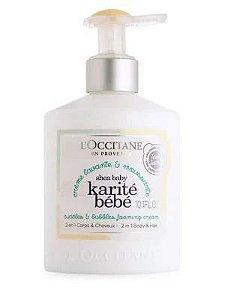 LOccitane Karité Bébé Leite Hidratante 300ml