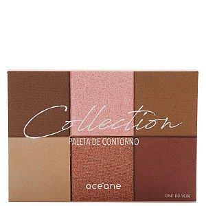 Oceane Collection Paleta Contorno 6 Cores