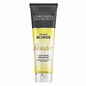 John Frieda Sheer Blonder Go Blonder Lightening Shampoo - 245ml