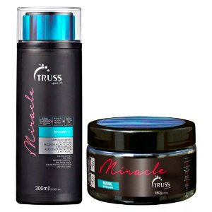 Truss Professional Miracle Kit - Shampoo 300ml + Máscara18g