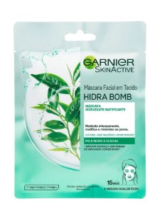 GARNIER BOMB GREEN TEA MASK