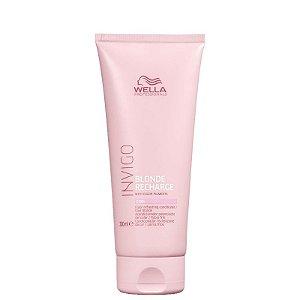 Wella  Invigo Blonde Recharge - Condicionador Desamarelador 250ml