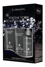 Lanza Soothe Your Scalp Naturally  (sh. 266 + cond. 250 +  scalp trat. 100 ml)