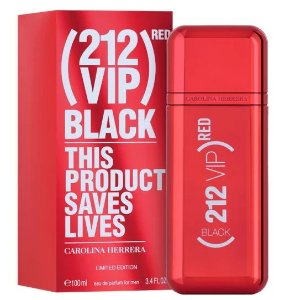 CAROLINA HERRERA  212 VIP BLACK RED EDP 100ML ED LIMITADA