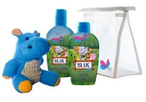 DELIKAD KIT KIDS SAFARI BLUE COL/SH) 100 ML / 200 ML