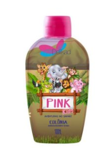 DELIKAD COLONIA  KIDS SAFARI PINK 100 ML