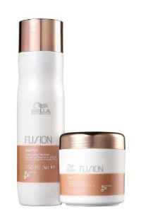 WELLA KIT FUSION DUO TRATAMENTO SHAMPOO 250ML + MASK 150ML