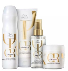 WELLA KIT OIL REFLECTIONS LIGHT SHA 250ML + COND 200ML + MASC 150ML + OIL RE LIGHT 100ML