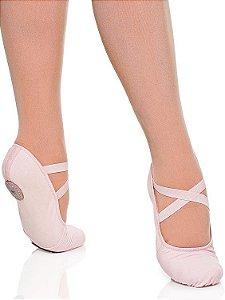 Sapatilha de Ballet Meia Ponta Glove Foot Lona/Stretch Capezio Ref 2008