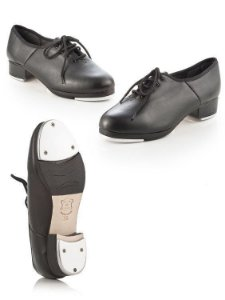 Sapato para Sapateado de Amarrar Sola Dupla Capezio TAP152