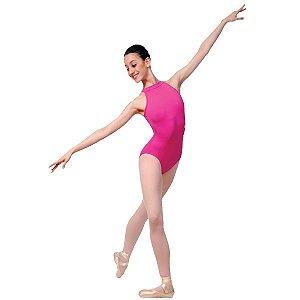 Collant de Ballet Adulto Supplex Tiras Verticais Capezio CAP236