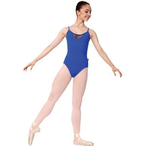 Collant de Ballet com Alças Adulto em Suplex Capezio CAP248
