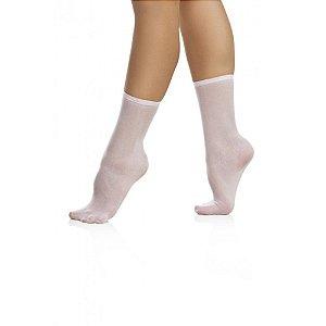 Meia de Ballet Soquete em Helanca Capezio M7