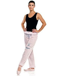 Calça de Ballet para Aquecimento Nylon Adulto ou Infantil Capezio Ref 1088