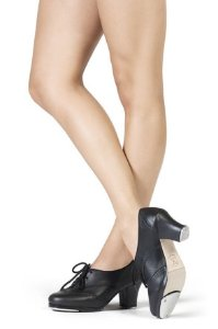 Sapato para Sapateado de Amarrar em Couro Capezio CT21