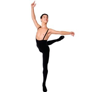 Macacão de Alças Ballet Masculino com Pé Capezio CAP230