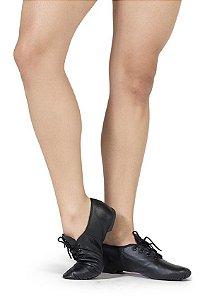 Sapato para Jazz de Amarrar em Couro Capezio Ref 302
