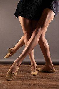 Sapatilha de Ballet Meia Ponta Gold Star Masculino ou Feminino Capezio C19
