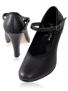 Sapato para Dança de Salão Feminino Salto 8cm Capezio CJ08