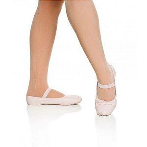 Sapatilha de Ballet Rosa Meia Ponta Korino Capezio Ref 002k