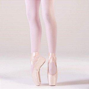 Sapatilha de Ballet Rosa Pré Ponta Petit Ref 187