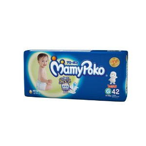 Fralda Fita Descartável MamyPoko -Tamanho G / Pacote com 42 Unidades- Tecnologia Japonesa