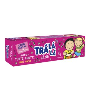 Trá Lá Lá Kids Creme Dental Tutti Frutti - 50G