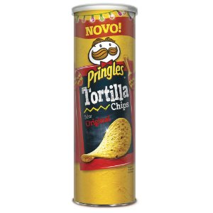PRINGLES TORTILHA ORIGINAL - 180G SALG BEL
