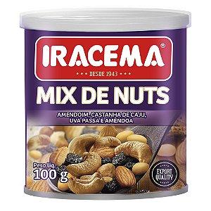 MIX DE NUTS IRACEMA Lata - 06X100G