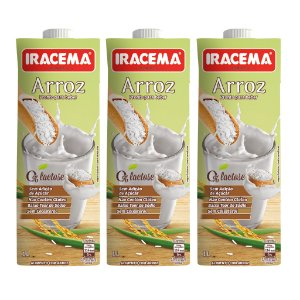 kit BEBIDA DE ARROZ IRACEMA - 03 X 1000ML