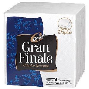 GUARDANAPO GRAN FINALE  22,5 X 23 CM - PCT COM 50 UNIDADES