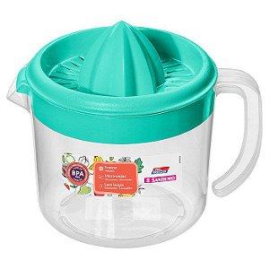 Espremedor de Frutas-Plástico-Cor Verde-1,02litros-SANREMO