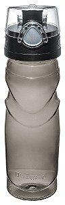 Garrafa Executiva Plástico-500ml-Cor Cinza-SANREMO