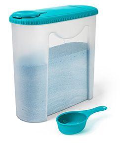 Porta Sabão Plástico Com Dosador-2,35 Litros-SANREMO