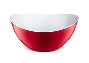 Tigela Plástica para alimentos-2.600ML-Cor Vermelha-SANREMO