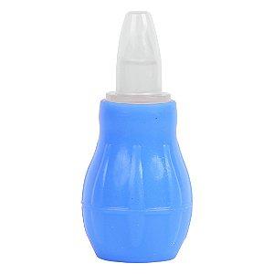 Aspirador Nasal PREMIUM-Cor Azul-Babygo