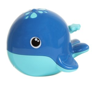 Conjunto Amigos do Banho BALEIA PREMIUM-Cor Azul-Babygo
