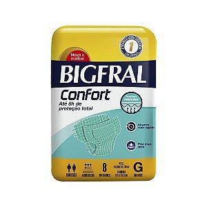 Fralda BIGFRAL CONFORT GD 08 Unidades